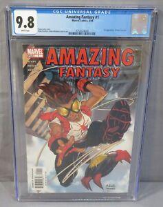 AMAZING FANTASY #1 (Anya Corazon 1st app, Arana Spider-Girl) CGC 9.8 Marvel 2004