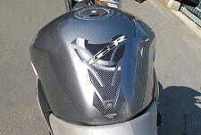PARASERBATOIO ADESIVI Gel STICKERS 3D CARBONIO COMPATIBILE per MOTO SUZUKI GSR