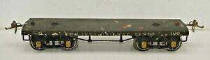 1920'S IVES RAILWAY LINES STANDARD GAUGE 196 FLAT CAR MODEL TRAINS