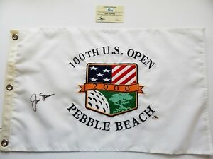 JACK NICKLAUS Signed 2000 US OPEN FLAG -