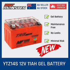 YTZ14S 12V 11AH MOTORCYCLE GEL BATTERY HONDA YAMAHA KTM BMW SCOOTER BIKE NEW