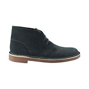 Clarks Bushacre 2 Men's Boots Dark Green Suede 26144481