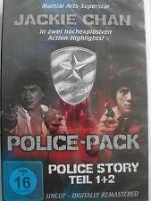 Police Story 1 + 2 - Jackie Chan Hongkong Kult - UNCUT - Fights, Stunts, Comedy