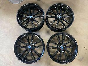 """BMW Genuine M Performance 4x 20"""" Alloy Wheels Style 624M F30 F31 F32 F36"""