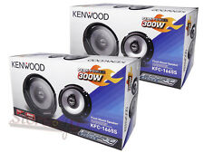 4 x KENWOOD 6.5-Inch 2-Way Car Audio Coaxial Speaker 600Watts (2 Pairs)