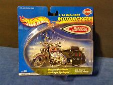 Hot Wheels 1:18 Scale Harley Davidson Heritage Springer Motorcycle - 89064