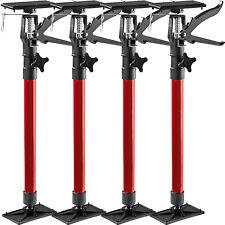 4x Étai de soutien porte pour chambranle tige télescopique écarteur porte rouge