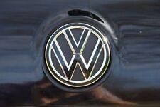 GOLF 5 VW Emblema Pellicola NERO LUCIDO OPACO PER Front o posteriore GTI, GTD, R, tuning