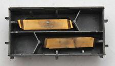 2 piezas PLAQUITA PLAQUITAS Horn 229.1068.4969 NT35 16719787 , NUEVO