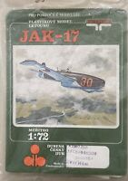 Vacuform Jak-17 Model Kit