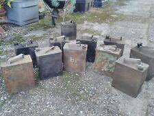 More details for 10 vintage petrol cans