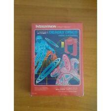 Tron Deadly Discs Video Game Cartridge Mattel Electronics Intellivision 1982