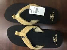 New Oneill Doheny Suede Men's Sandals Tan 10