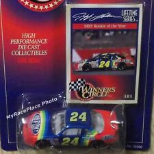 #24 Jeff Gordon 1/64 NASCAR Diecast Stock Car _ 1993 ROOKIE OF THE YEAR _ LTS #6