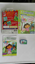LEAPFROG LEAPSTER 2 LEARNING SYSTEM - NICK JR DORA THE EXPLORER WILDLIFE RESCUE