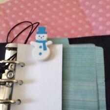 Filofax Today Page Marker Fits All Filofax LIMITED EDIITION Snowman