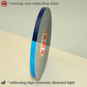 3M™ 580 scotchlite reflective vinyl tape stripe blue 7mm x 6MT 8 years outdoor