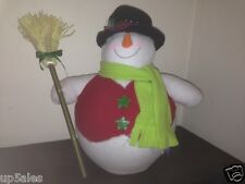 fibre optic snowman christmas decorations to suit indoor display this xmasRR133#