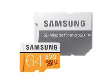 Samsung 64GB Micro SD SDXC MicroSD MicroSDXC TF Class 10 100MB/s 64G 64 GB EVO