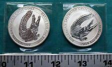 2014 Perth Mint Australian $1 Saltwater Crocodile 1 oz Silver BU Coin #5542