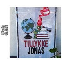 Stanzschablone Wurm Hochzeit Weihnachts Oster Geburtstag Karte Album Deko DIY