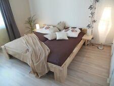 Massivholz Bett 180x200 FußI Doppelbett Buche Gaestebett Futonbett Holzbett NEU