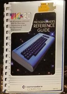 Commodore Vic20 Programmers Reference Guide