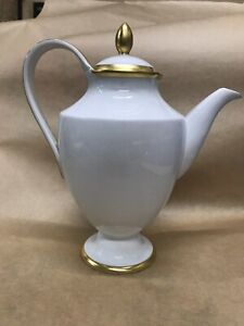 KPM Royal Berlin Van Houten German porcelain coffee  pot Bone China A2