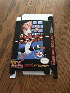 Nintendo NES SUPER MARIO BROTHERS / DUCK HUNT COMBO box ONLY!!!