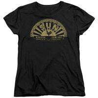 Sun Records TATTERED LOGO Licensed Women's T-Shirt All Sizes