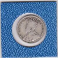 25 cents Kanada 1917 Georg V Canada Silber silver