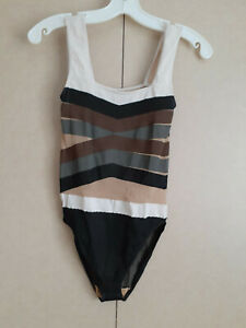 Wolford Tan, Gray, Brown and Black Bodysuit for Women