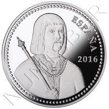 ESPAÑA: 10 euros plata 2016 proof  Fernando II de Aragon V Centenario Muerte