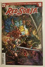 Red Sonja (2017) #0 NM- Dynamite Comics