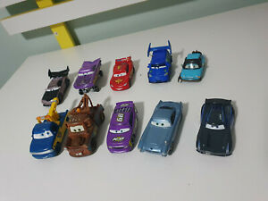 DISNEY DIECAST CARS LOT OF 9!