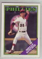 1988 Topps Baseball Philadelphia Phillies Team Set