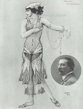 Maria Kouznetsova As Salome 1913 Leon Bakst Print Article B323