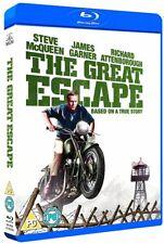 THE GREAT ESCAPE (1963) Steve McQueen, Richard Attenborough - RgFree BLU-RAY