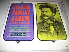 STRAUSS FAMILY ALBUM VIENNA PHILHARMONIC KEPPLER LP EX Mount Vernon MVM-150