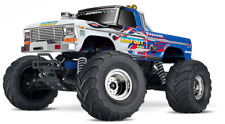 Traxxas Monster Jam Big Foot RTR White Body FLAME EDITION - NEW - Stampede