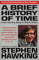 A Brief History of Time: From Big Bang to Black Holes-ExLibrary