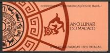 MACAO MNH 1992 Year of the Monkey Booklet Complete