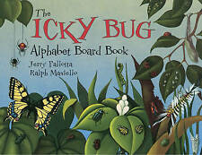 The Icky Bug Alphabet Board Book by Jerry Pallotta (Board book, 2000)