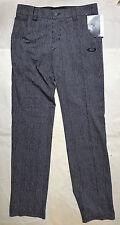Oakley Haverford Pants, O Hydrolix, 28 x 32, Black Stripe, NEW