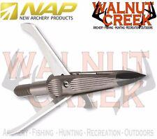 """NAP SpitFire Maxx 3-Blade 100 Grain 1-3/4"""" Cut Broadhead  3-Pack #60-798"""
