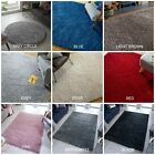 BRILLIANCE SPARKS MODERN THICK SOFT PLAIN SHAGGY SMALL LARGE RUG ROUND CARPET