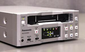 SUPER MINT! Panasonic AG-DV2500 DV / MiniDV Recorder (JVC BR-DV3000) PAL/NTSC