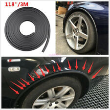 Car Fender Flare Arch Wheel Trim Protector Car Wheel Eyebrow Strip 2X1.5M