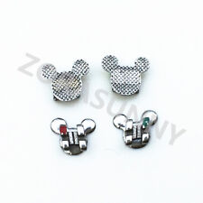Dental Orthodontic Fashion Brackets Roth .022 Mickey Mouse Shape CE New
