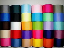 "LOT 30 YARDS GROSGRAIN RIBBON SOLID COLORS 1.5 "" 1 1/2"" INCH REF 09"